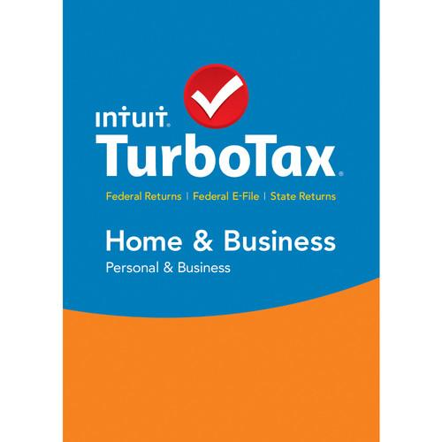 Intuit TurboTax Home & Business Federal E-File   426932