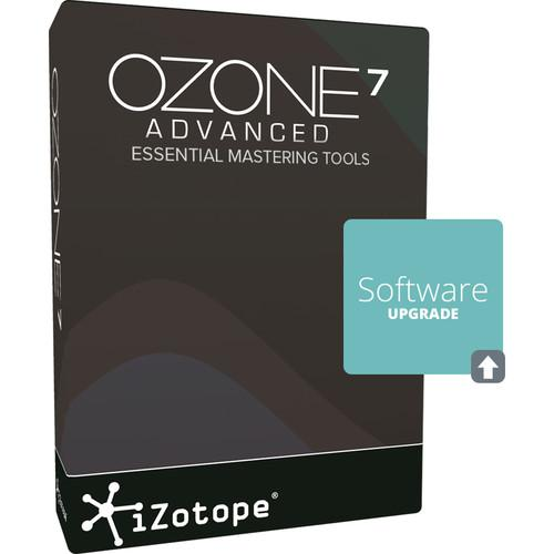 iZotope Ozone 7 Advanced Upgrade - UPGRADE FROM OZONE 1-7