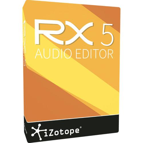iZotope RX 5 Standard Upgrade - Audio Restoration UGRX5FRX1-4