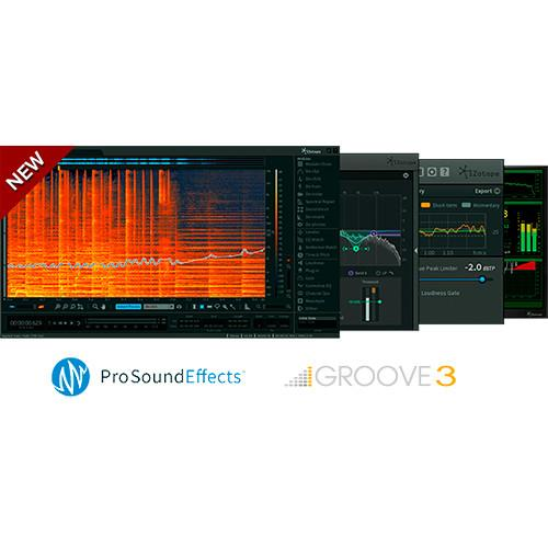 iZotope RX Post Production Suite Upgrade - Audio UGPPSFRX15A
