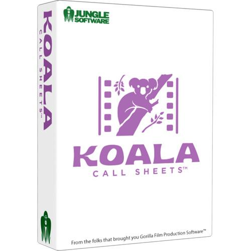 Jungle Software Koala Call Sheets (Download) 300021