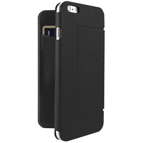 Just Mobile Quattro Folio Case for iPhone 6/6s (Black) LC-268BK