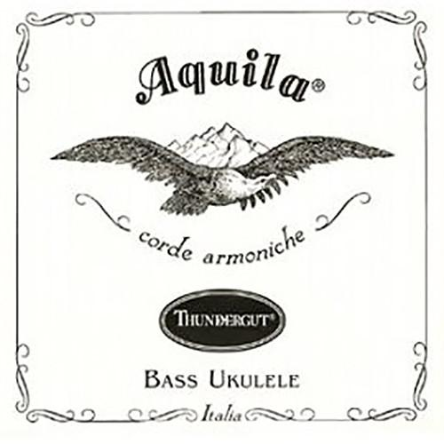 KALA Aquila Thundergut U-BASS Strings (White) AQ-TG-4