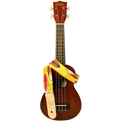 KALA Custom Designed Handmade Instrument Strap STP-YELLOWSURF