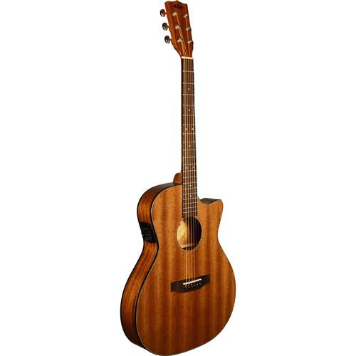 KALA Thinline Steel-String Acoustic Electric Guitar KA-GTR-MTS-E
