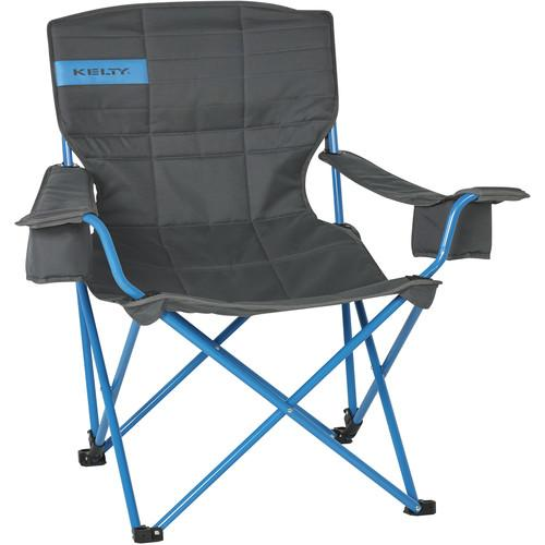 Kelty Deluxe Lounge Chair (Smoke/Paradise Blue) 61510216SM