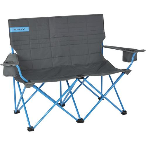 Kelty Folding Low-Love Chair (Smoke/Paradise Blue) 61510716SM