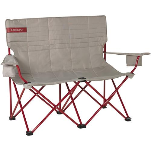 Kelty Folding Low-Love Chair (Tundra/Chili Pepper) 61510716TUN