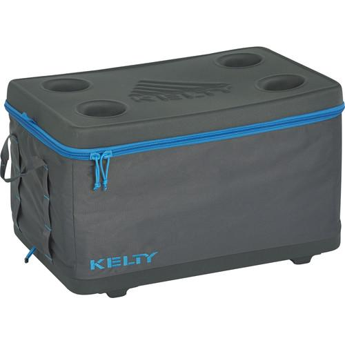 Kelty Medium Folding Cooler (Smoke / Paradise Blue) 24668616SM