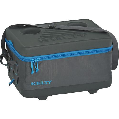 Kelty Small Folding Cooler (Smoke / Paradise Blue) 24668516SM