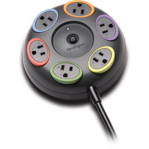 Kensington SmartSockets Tabletop 6-Outlet Surge K62634NA