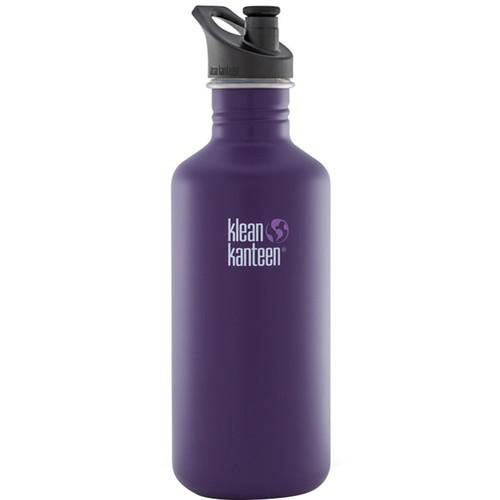 Klean Kanteen Classic 40 oz Water Bottle with Sport K40CPPS-BRS