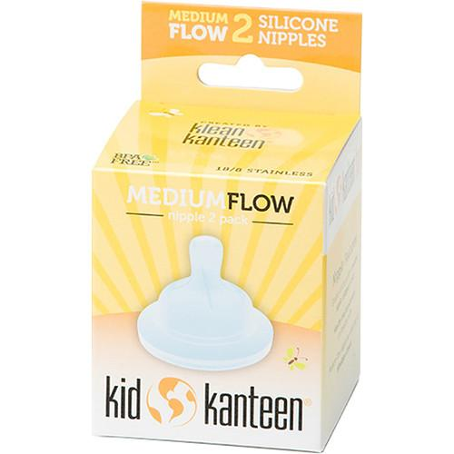 Klean Kanteen Kid Kanteen Medium Flow Baby Nipple KBBNMF-CR
