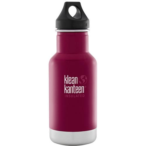 Klean Kanteen Vacuum Insulated Classic Water Bottle K12VCPPL-BR