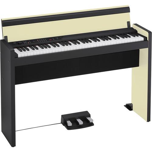Korg LP-380 73-Key Digital Piano (Cream/Black) LP38073CB