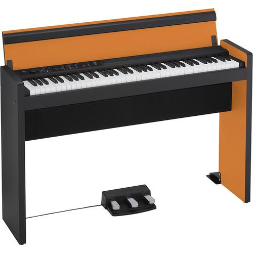 Korg LP-380 73-Key Digital Piano (Orange/Black) LP38073OB