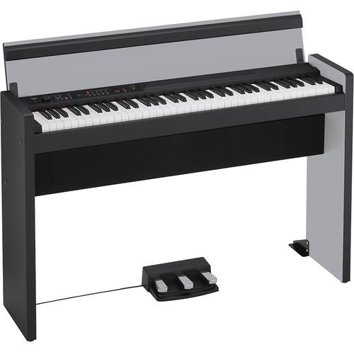 Korg LP-380 73-Key Digital Piano (Silver/Black) LP38073SB