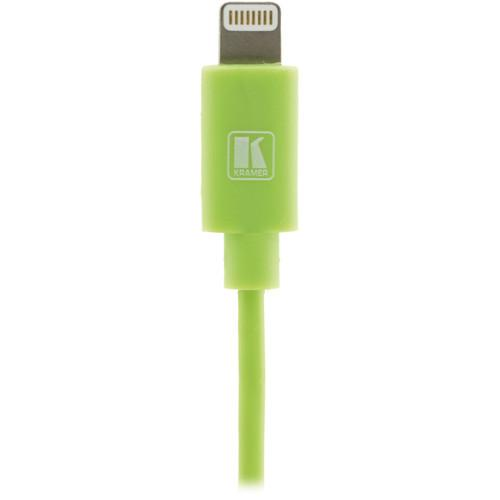 Kramer Lightning to USB Sync & Charge Cable C-UA/LTN/GR-3
