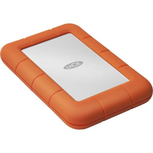 LaCie 4TB Rugged Mini Portable Hard Drive LAC9000633