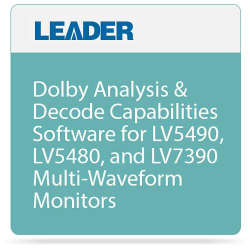 Leader Dolby Analysis & Decode DOLBY OPTION 1100