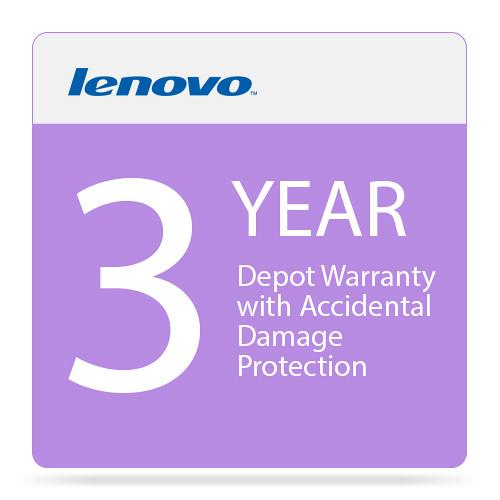 Lenovo 3-Year Depot Warranty with Accidental Damage 5PS0F31382