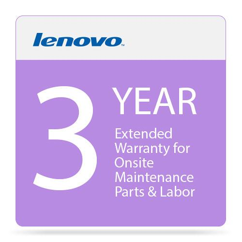 Lenovo 3-Year Extended Warranty for Onsite 5WS0F31384