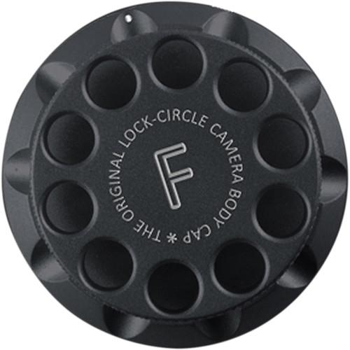 LOCKCIRCLE LockCircle Black F Edition Camera Body Cap LNB