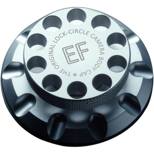 LOCKCIRCLE LockCircle Silver EF Edition Camera Body Cap LCS