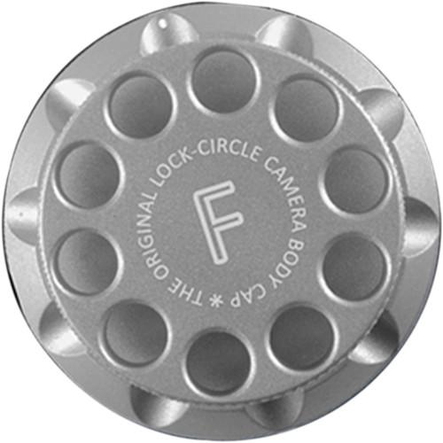 LOCKCIRCLE LockCircle Silver F Edition Camera Body Cap LNS