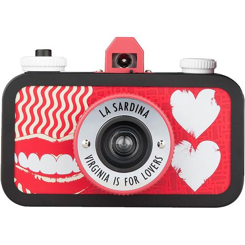 Lomography  La Sardina Virginia Camera SP100VG