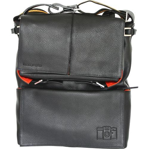 Lomography  Sidekick Leather Bag (Black) B500