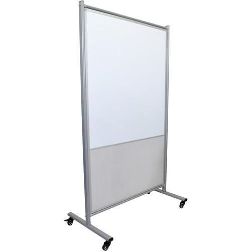 Luxor MD4072MW Mobile Magnetic Whiteboard Room Divider MD4072MW