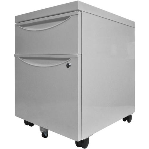 Luxor Mobile Pedestal File Cabinet with Locking KDPEDESTAL-GY