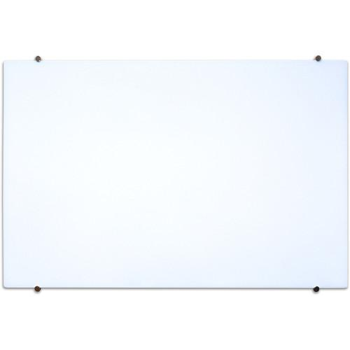 Luxor Wall-Mountable Magnetic Glass Board WGB4834M