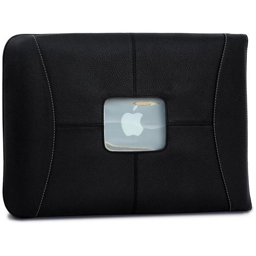 MacCase Premium Leather MacBook Air & Pro Sleeve L13SL-BK