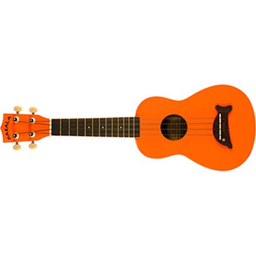 MAKALA MK-SD/OR Dolphin Soprano Ukulele (Orange) MK-SD/OR