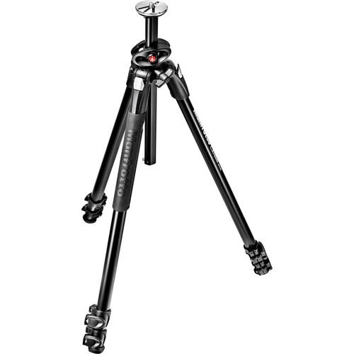 Manfrotto MT290DUA3US 290 Dual Aluminum Tripod MT290DUA3US