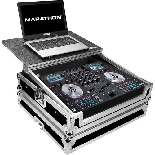Marathon Flight Road Case with Laptop Shelf for One MA-NVLT