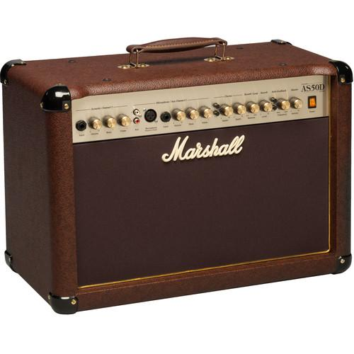 Marshall Amplification AS50D 2-Channel Acoustic Guitar AS50D-U