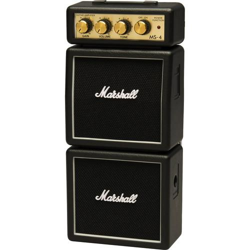Marshall Amplification MS-4 Micro Stack - Mini Practice MS-4-U