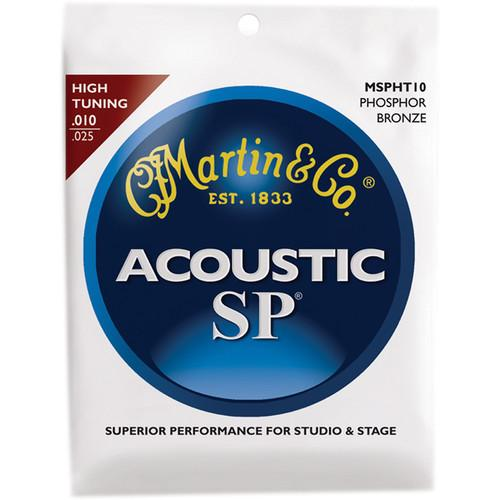 MARTIN Acoustic SP Phosphor Bronze Guitar Strings MSPHT10