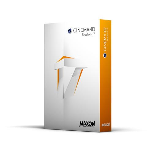 Maxon CINEMA 4D Studio R17 - Educational Edition C4DSB-N-EDU17
