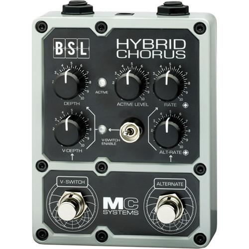 MC Systems Apollo BSL Hybrid Chorus Guitar Pedal MCS-BSL-1