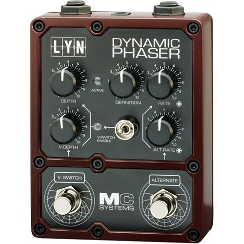 MC Systems Apollo LYN Dynamic Phaser Guitar Pedal MCS-LYN-1