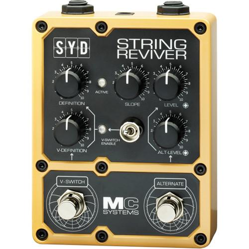 MC Systems Apollo SYD String Reviver Guitar Pedal MCS-SYD-1
