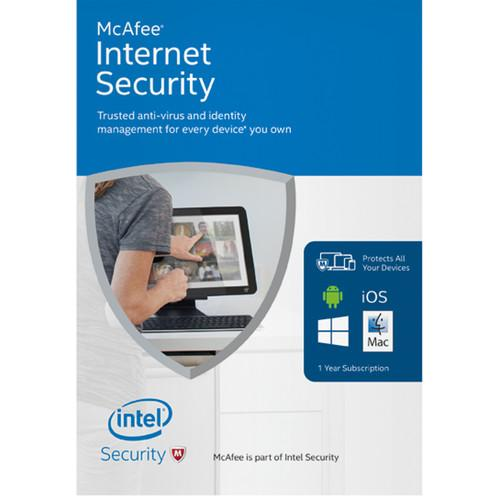 McAfee  Internet Security 2016 MIS16Z009RKA