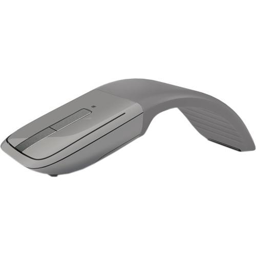 Microsoft Arc Touch Bluetooth Mouse (Gray, Blue Box) 7MP-00011