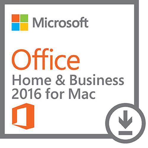Microsoft Office Home & Business 2016 for Mac W6F-00465