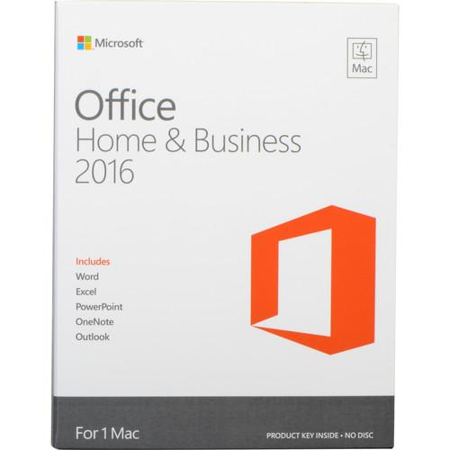 Microsoft Office Home & Business 2016 for Mac W6F-00501