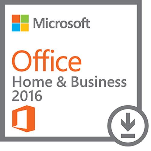 Microsoft Office Home & Business 2016 for Windows T5D-02323